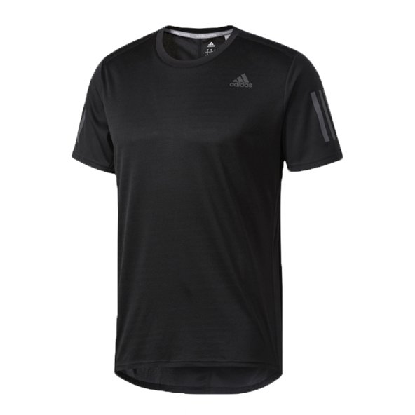 adidas Response Men's Running T-Shirt, Black