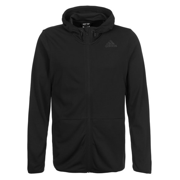 adidas Climacool Workout Men's FZ Hoody, Black