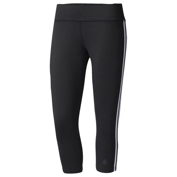 adidas D2M 3S 3/4 Wmn Tight Blk/Wht