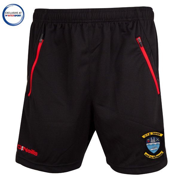 O'Neills Westmeath Colby Men's Poly Short, Black