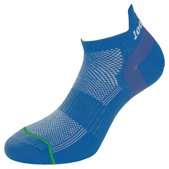 1000 Mile Trainer Liner Men's Run Sock, Blue