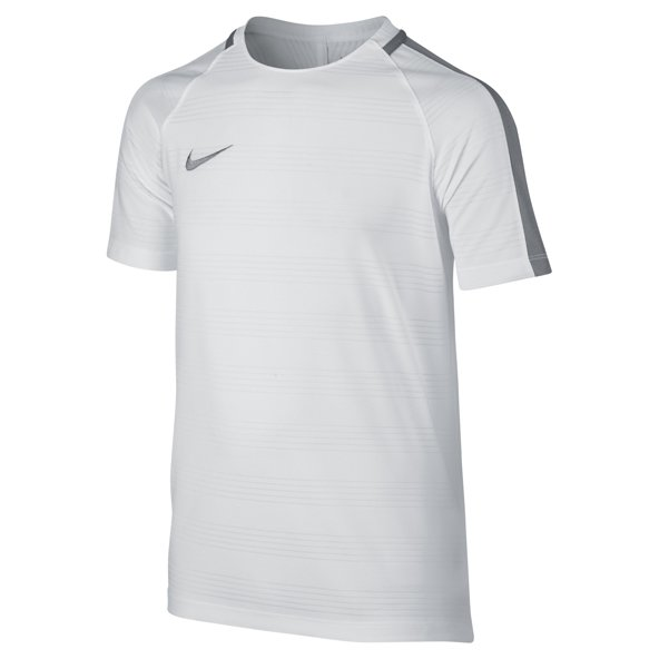 Nike Dry Squad Boys' Football T-Shirt, White