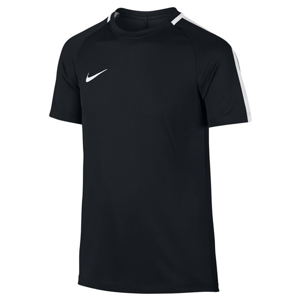 Nike Academy Boys' Football T-Shirt, Black