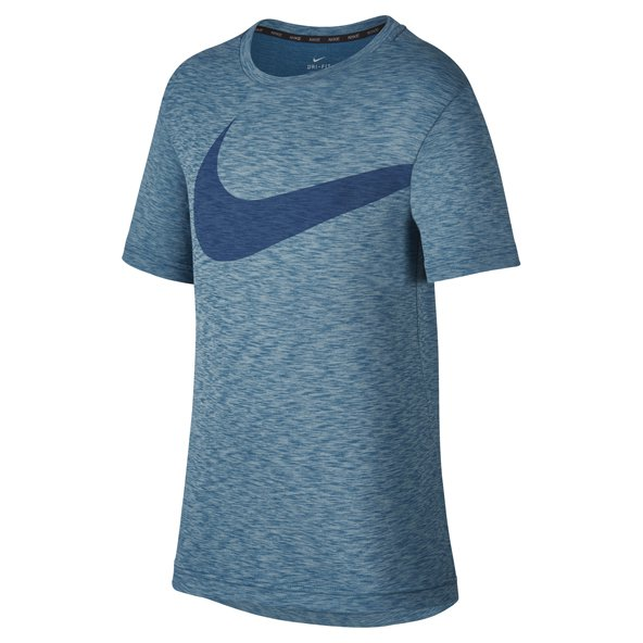 Nike Breathe Hyper Boys' T-Shirt, Blue