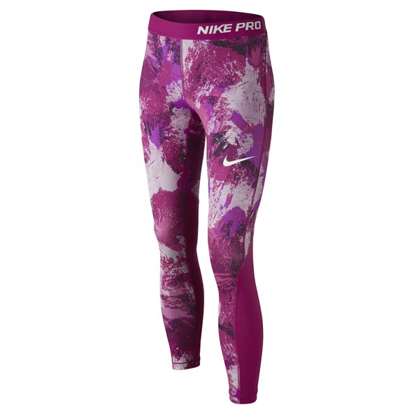 Nike Pro-Cool Aop3 Girls Tight Pink/Fuch