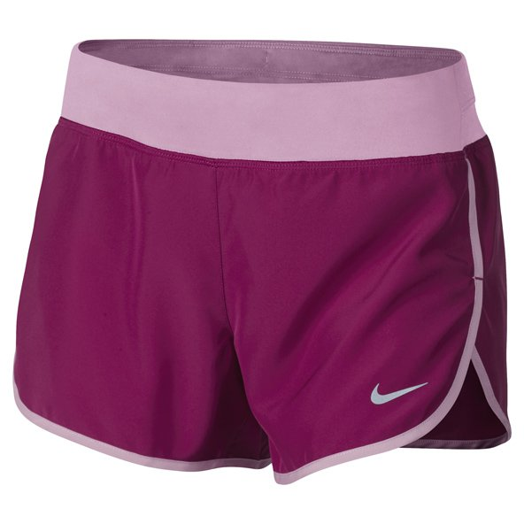 Nike Dry Rival Girls Shorts Berry/Orchid