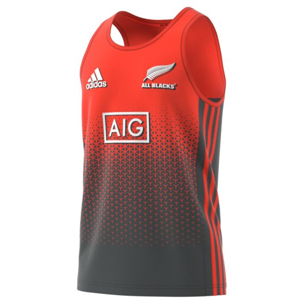 adidas All Blacks 2017 Singlet, Red