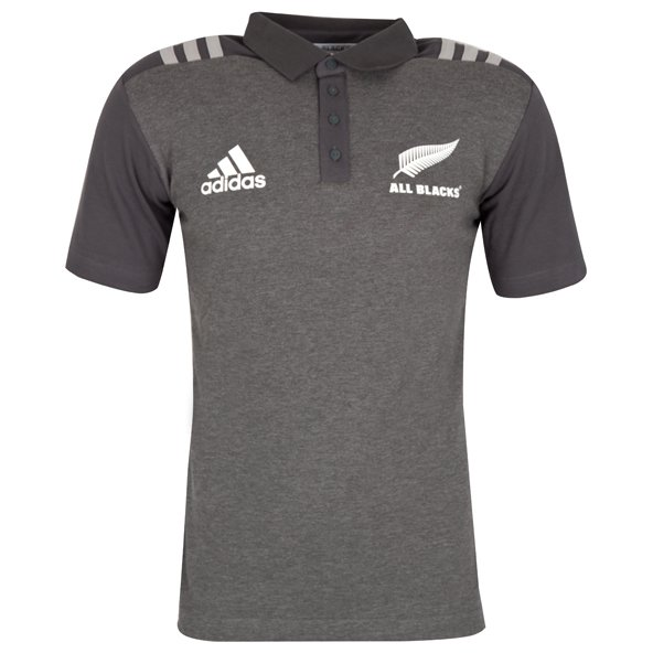 adidas All Blacks 2017 Polo Shirt, Grey