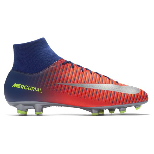 Nike Mercurial Victory VI DF FG Football Boot, Blue
