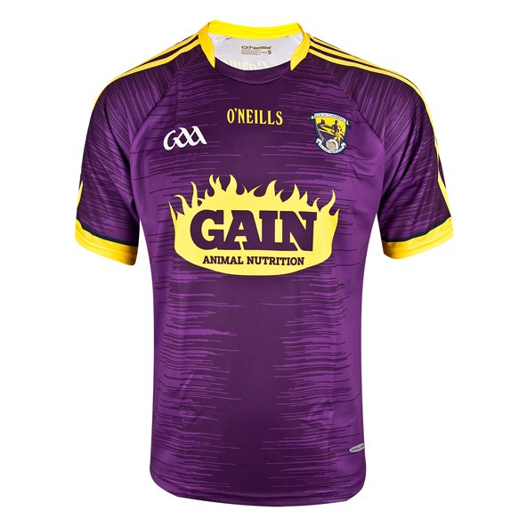 O'Neills Wexford 2017 Kids' Home Jersey, Purple