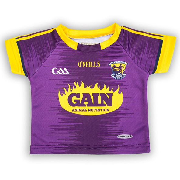 O'Neills Wexford 2019 Junior Home Jersey, Purple