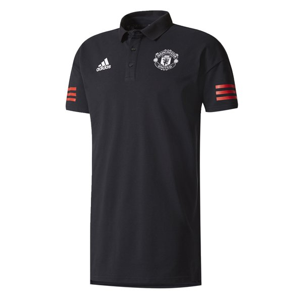 adidas Man Utd 17 EU Polo Black