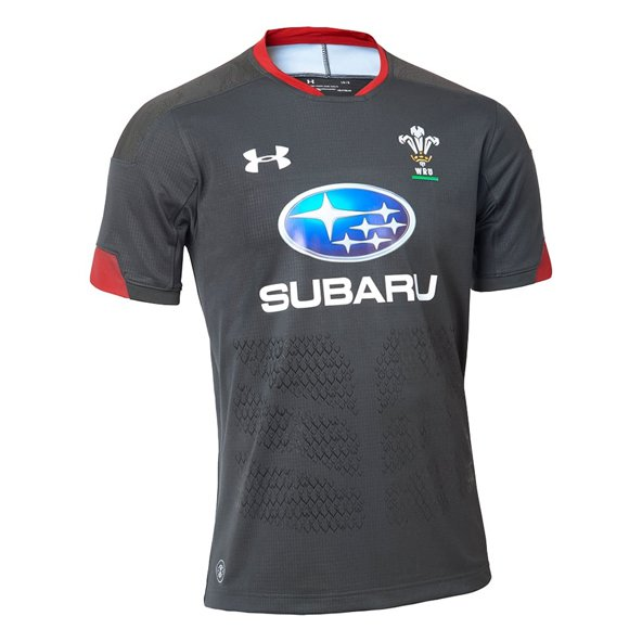 Under Armour® Wales Away Supporters Jersey, Grey
