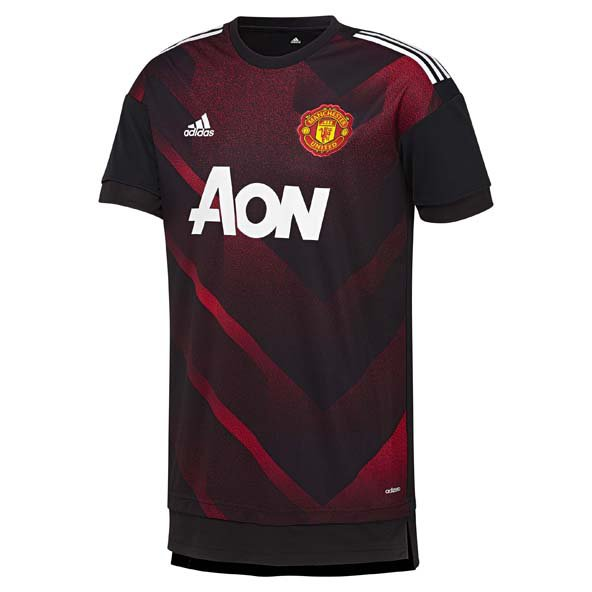 adidas ManU 17 Kid Hm Prematch Shirt Red