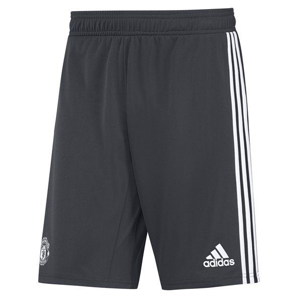 adidas Man United 2017/18 Kids' Training Short, Grey