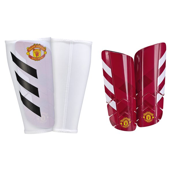 adidas Man United 2017/18 Pro Lite Shinguard, Red