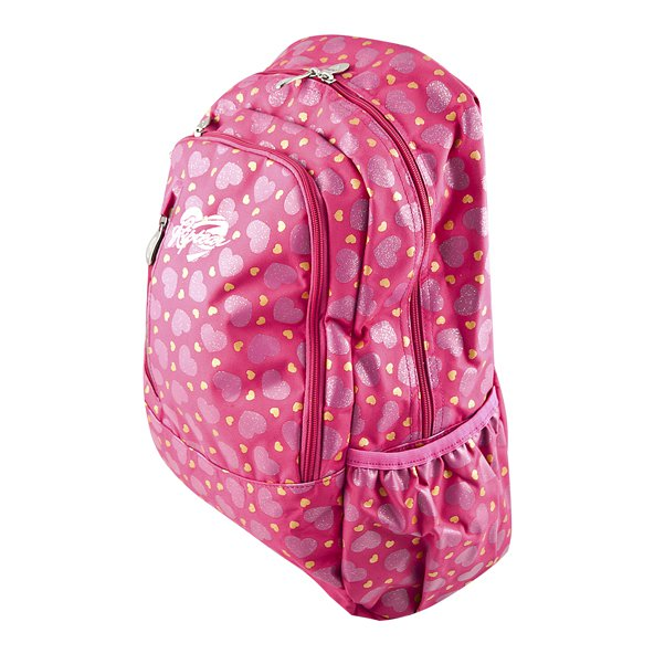 Riptear Heart Girls Backpack Pink