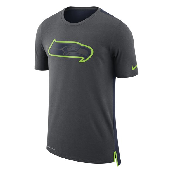 Nike Seahawks Travel Tee Grey