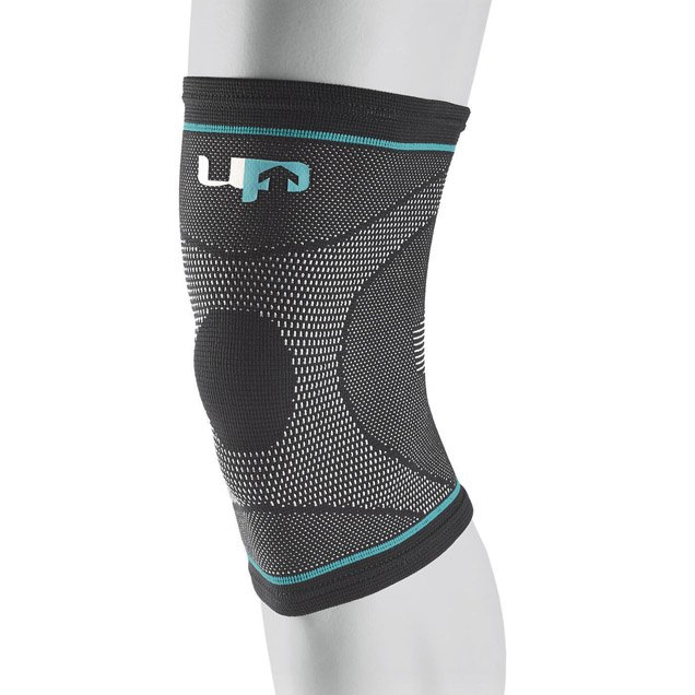 UP Elastic Knee Compression Support, Black