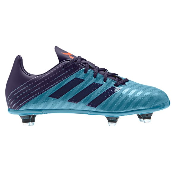 adidas Malice Kids' SG Rugby Boot, Blue