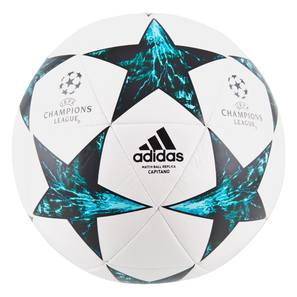 adidas UCL Finale Capitano 2017/18 Ball, White