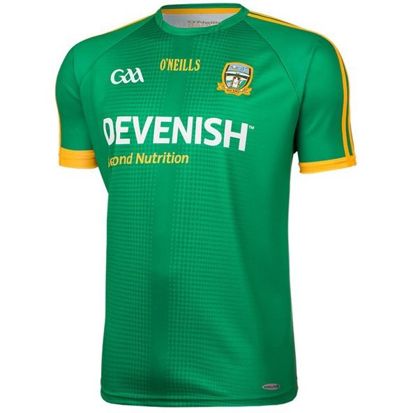 O'Neills Meath Home Jersey 17 Grn/Amber