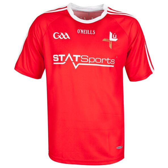 O'Neills Louth 2017 Kids' Home Jersey, Red