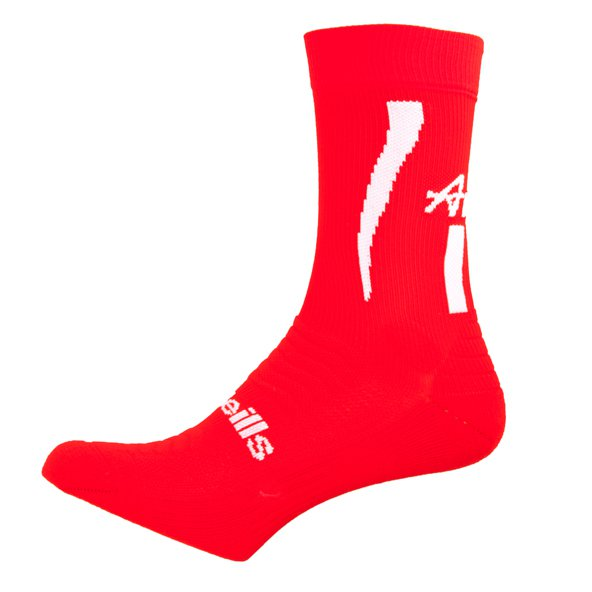 O'Neills Louth Kids Sock 17 Red/Wht