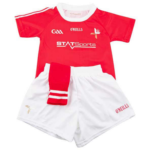 O'Neills Louth 2017 Kids' Home Kit, Red
