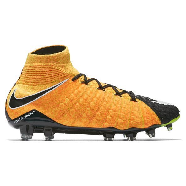 Nike Hypervenom Phantom III DF FG Football Boot, Orange