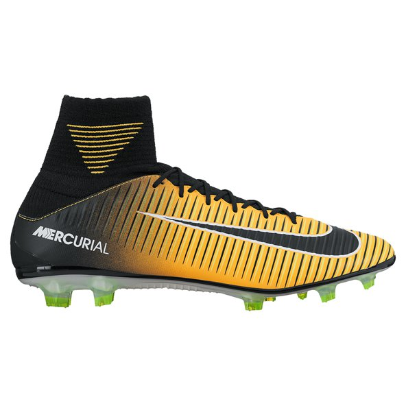 Nike Mercurial Veloce III DF FG Football Boot, Orange