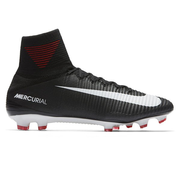 Nike Mercurial Superfly V FG Football Boot, Black