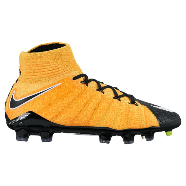 Nike Hypervenom Phantom III DF FG Kids' Boot, Orange