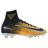 Nike Mercurial Superfly V Kids' FG Football Boot, Orange