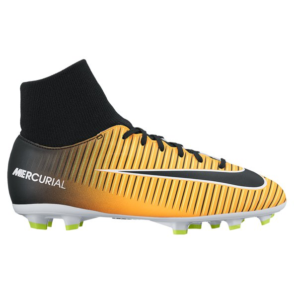 Nike Mercurial Victory VI DF Kids' FG Boot, Orange