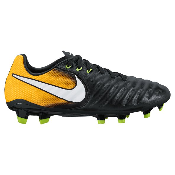 Nike Tiempo Legend VII Kids' FG Football Boot, Black