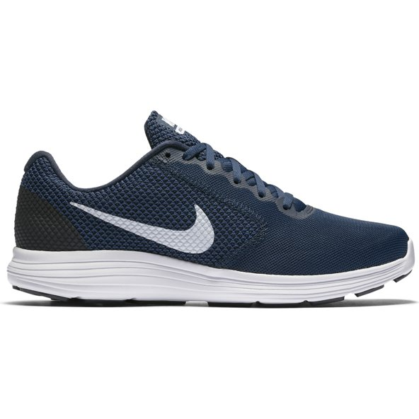 Nike Revolution 3 Mens Run Navy/White