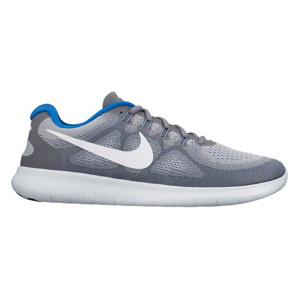 Nike Free Rn 2017 Mens Run Grey/White