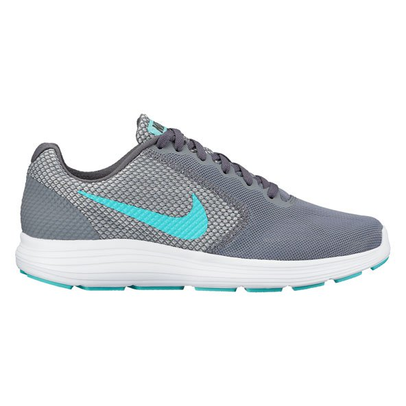 Nike Revolution 3 Wmn Run Grey/Green
