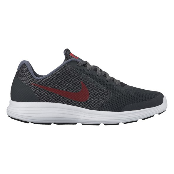 Nike Revolution 3 Boys Run Black/Red