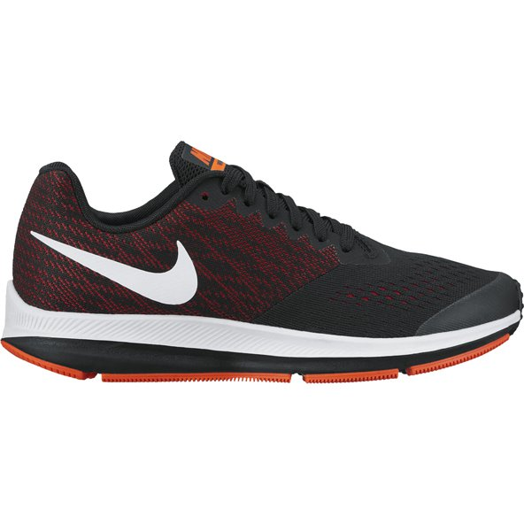 Nike Zoom Winflo 4 Boys Run Black/White