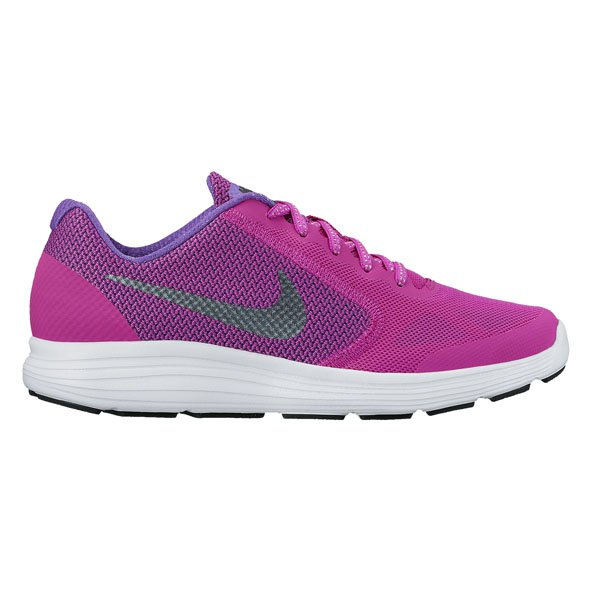 Nike Revolution 3 Girls Run Violet/Blk