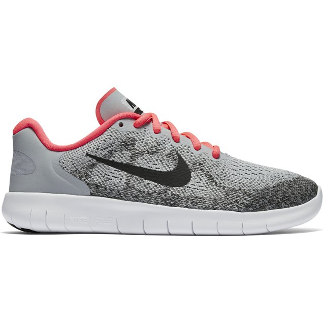 Nike Free Rn 2017 Girls Run Gre, 5, Grey ...