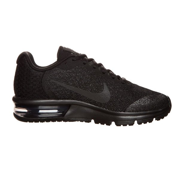 Nike Air Max Sequent 2 Girls' Trainer, Black