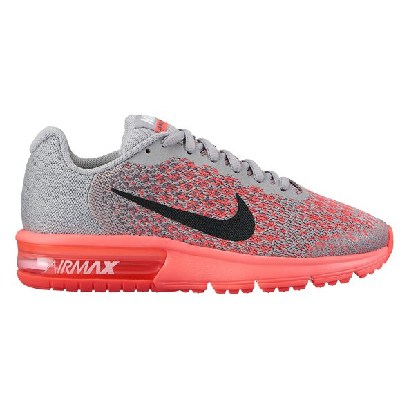 Nike Air Max Sequent Girls Fw Grey/Blk