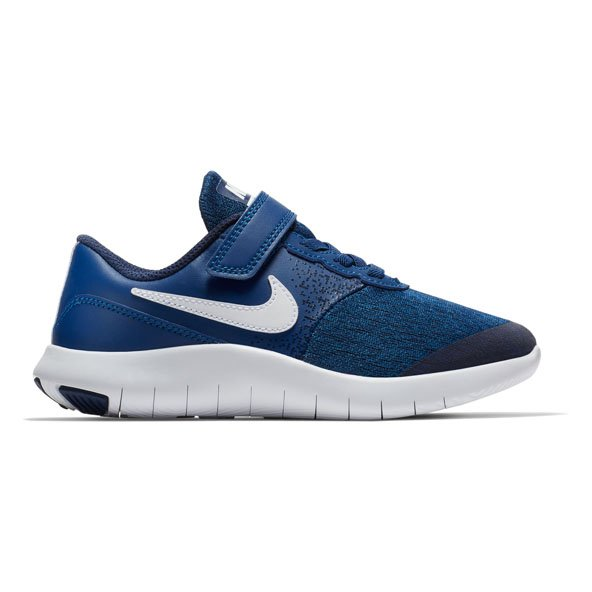 Nike Flex Contact Jnr Boys Fw Blue/Wht