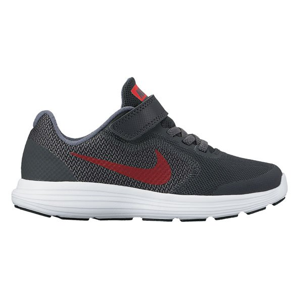 Nike Revolution 3 Jnr Boys Fw Black/Red