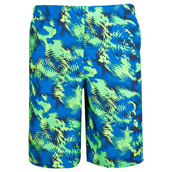 "Nike Watercamo 9"" Boys' Swim Short, Blue"