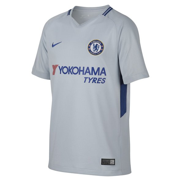 Nike Chelsea 2017/18 Kids' Away Jersey, Grey