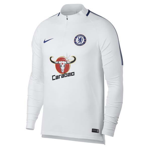 Nike Chelsea 2017/18 Squad Drill Top, White